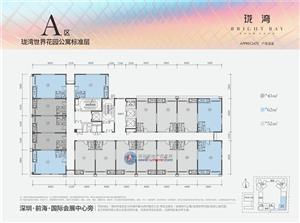 珑湾A区公寓平面户型图