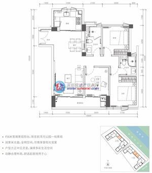 锦尚公馆B1户型
