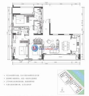 锦尚公馆C2户型